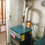 der andere Teil der alten Gasheizung